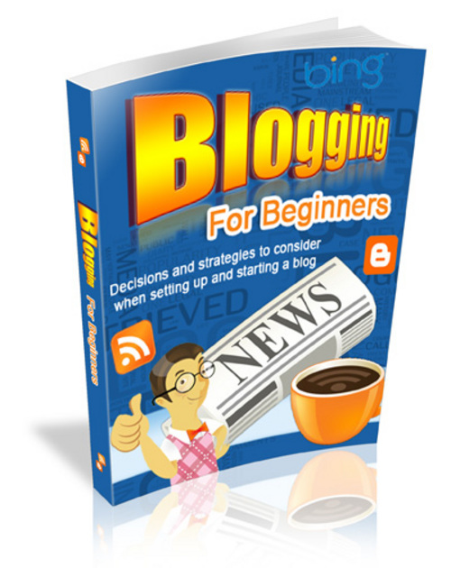 Product picture Blogging For Beginners with Master Resale Rights