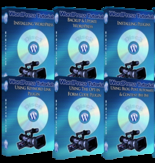 Product picture WP Blog Training Video With Master Resale Rights