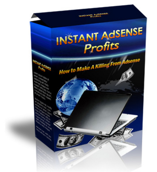 Product picture Instant Adsense Profits With Master Resale Rights