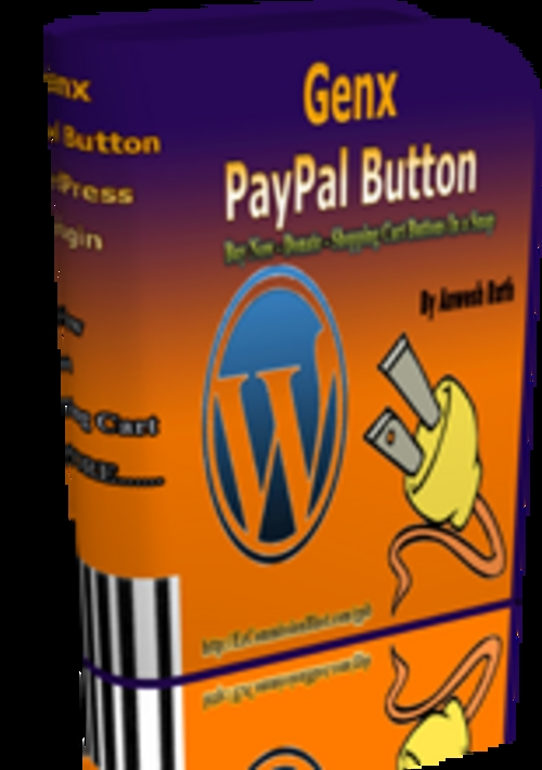 Product picture GenX PayPal Button Plugin With Private Label Rights