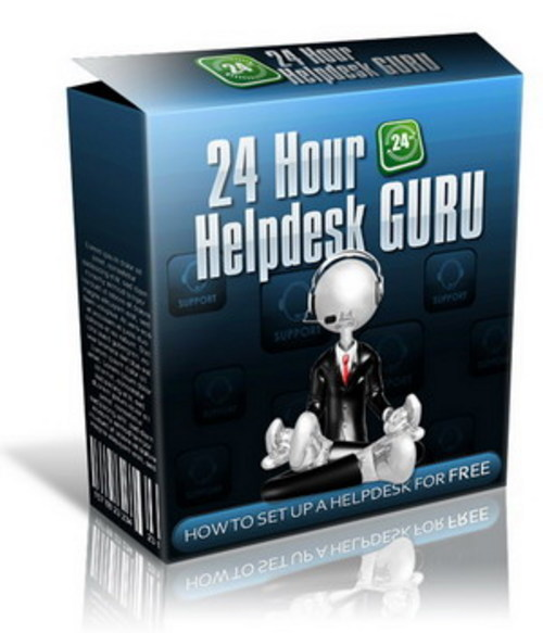 Product picture 24 Hour Help desk Guru With Master Resale Rights