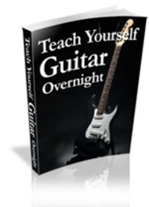 Product picture Teach Yourself  Guitar Overnight With Master Resale Righ